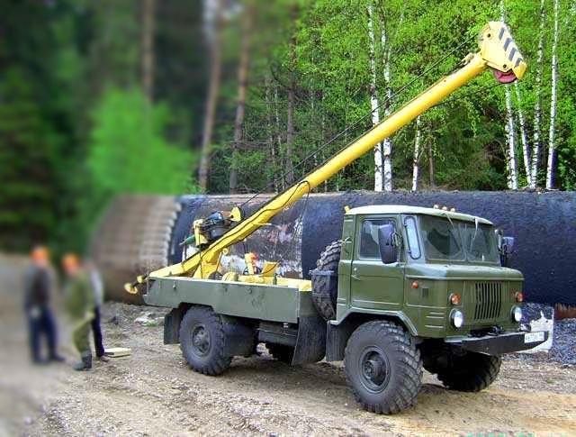 Буровая установка АВБ-2М ГАЗ-66