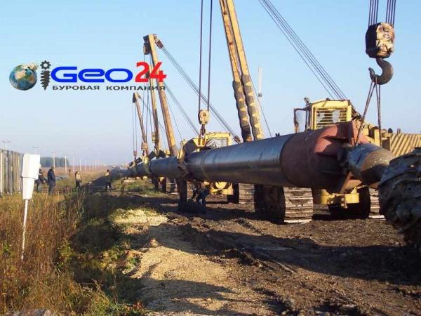 Трубопровод 1020 мм готов к укладке
