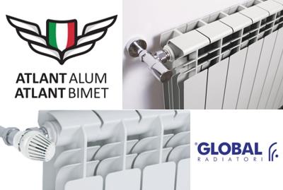 Продажа радиаторов Global Atlant