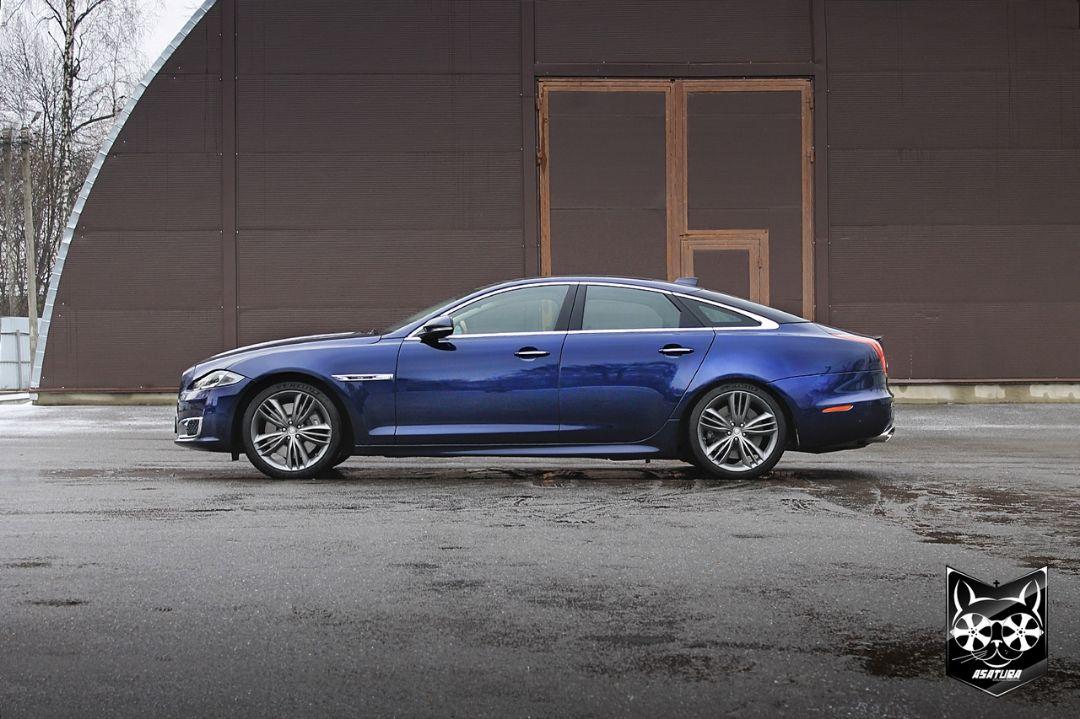 Jaguar - покраска кузовных элементов