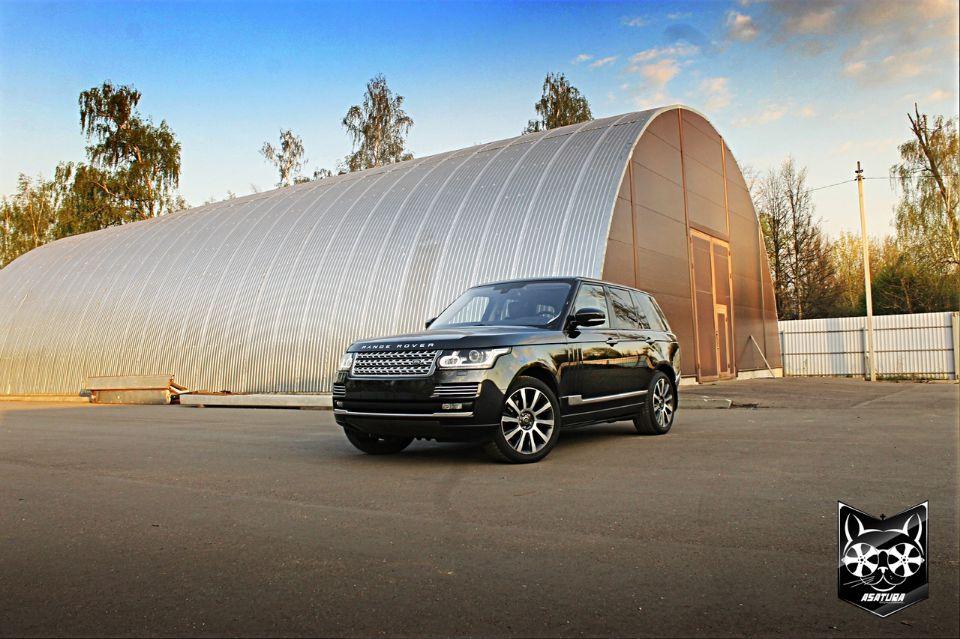 Land Rover - детелинг полировка кузова