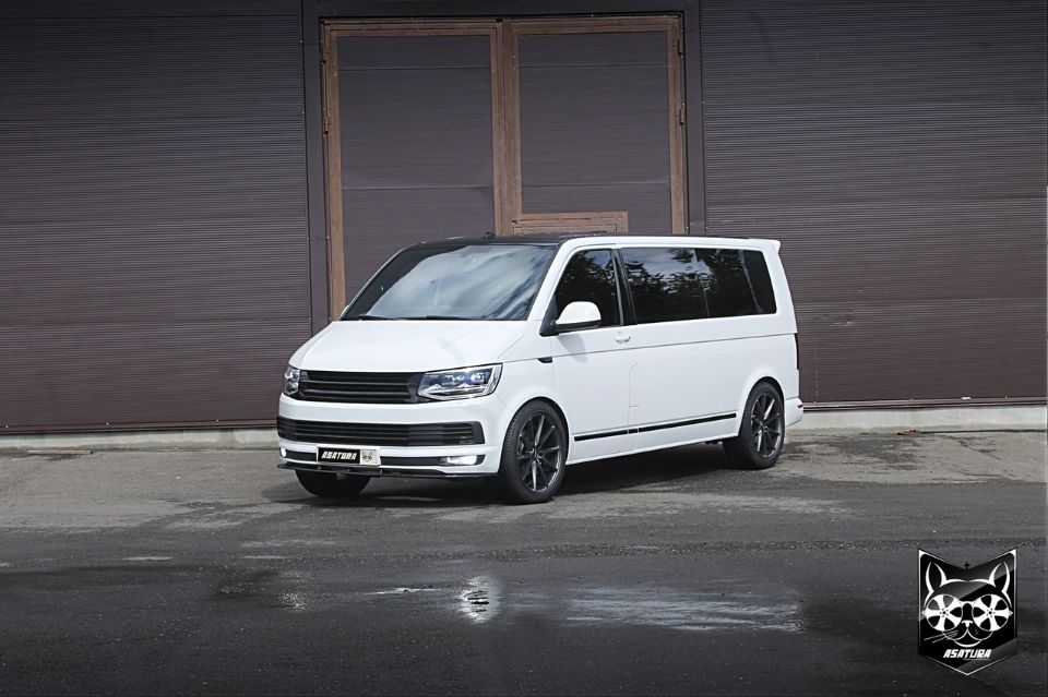 Volkswagen Multivan - Антихром экстерьера