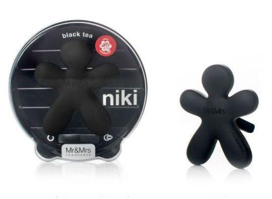 NIKI Ароматизатор авто BLACK TEA черный матовый