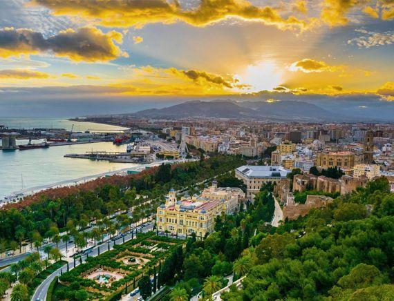 Испанский веер и Лассабон, От Барселоны до Парижа