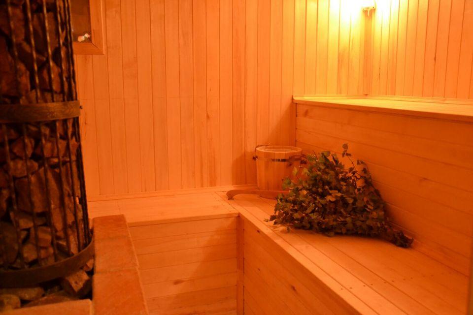 Рыбалка с проживанием в домах с баней