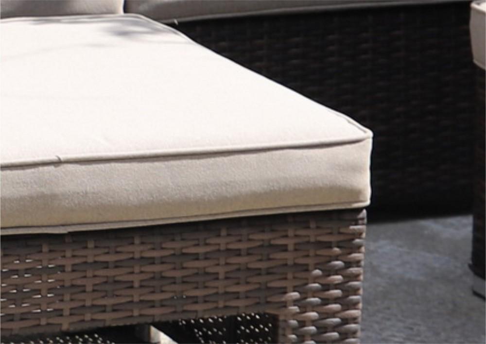картинка KEL 5 Brown Комплект мебели для отдыха плетеный из ротанга от магазина InYard