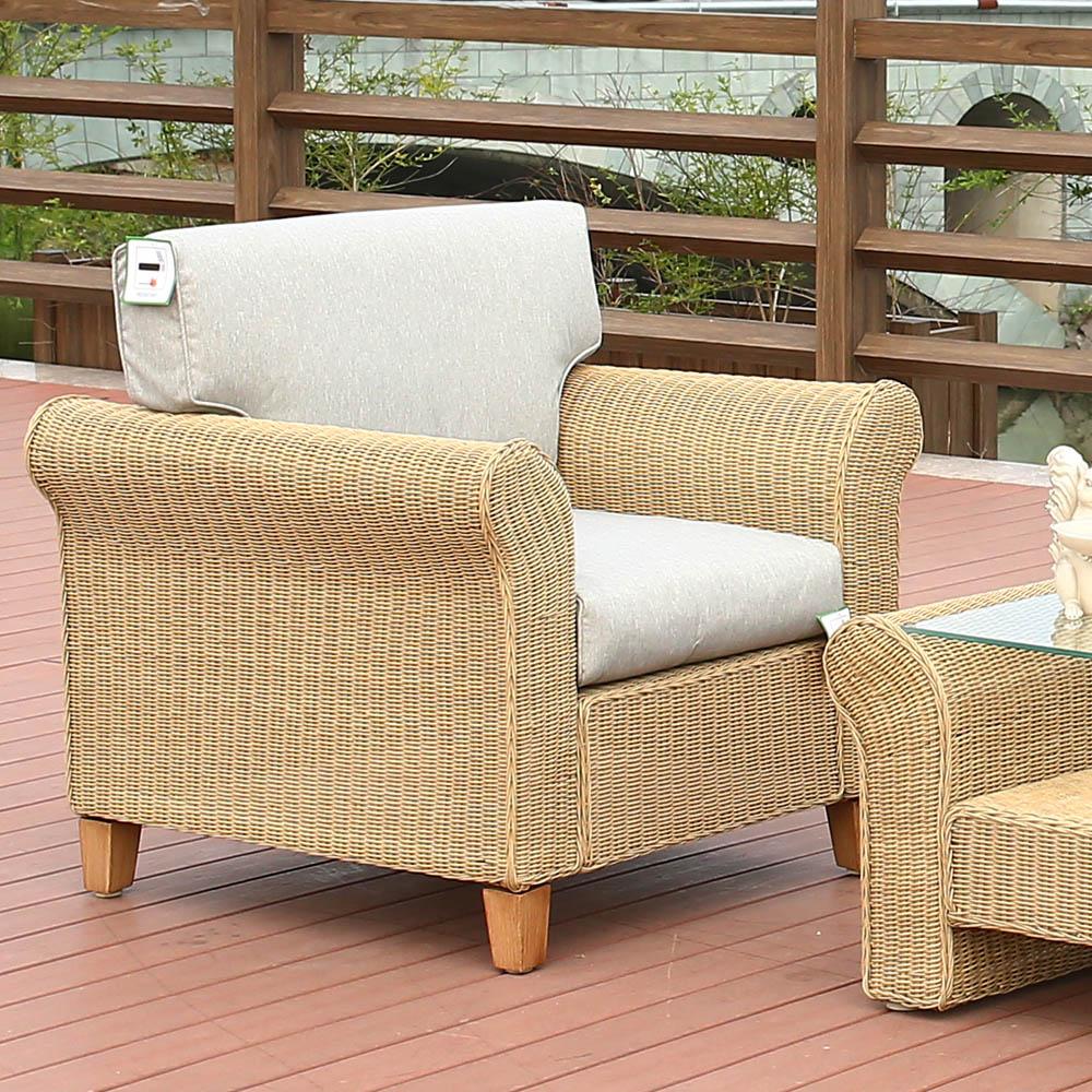 картинка BIZ 4 Beige Комплект мебели для отдыха плетеный из ротанга от магазина InYard