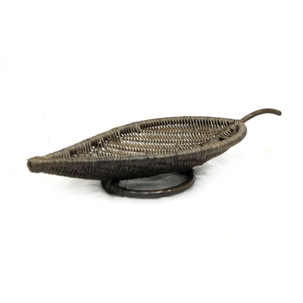 картинка LEAF Браун Комплект подносов (3 шт.) плетеный из ротанга от магазина InYard