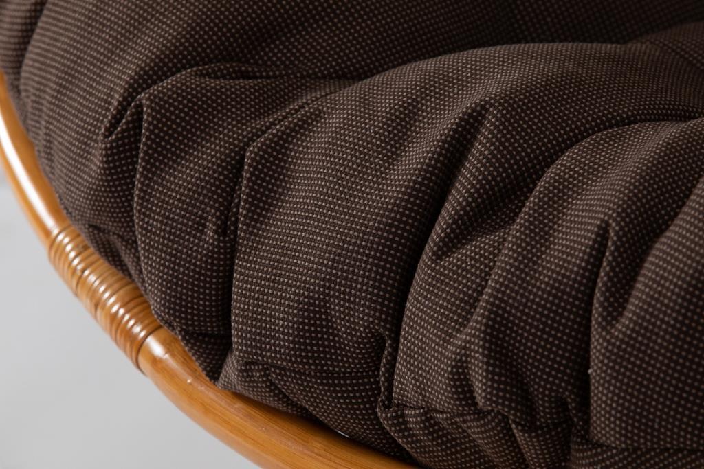 картинка ПАПАСАН Tripled Point Коньяк Кресло механическое плетеное из ротанга от магазина InYard