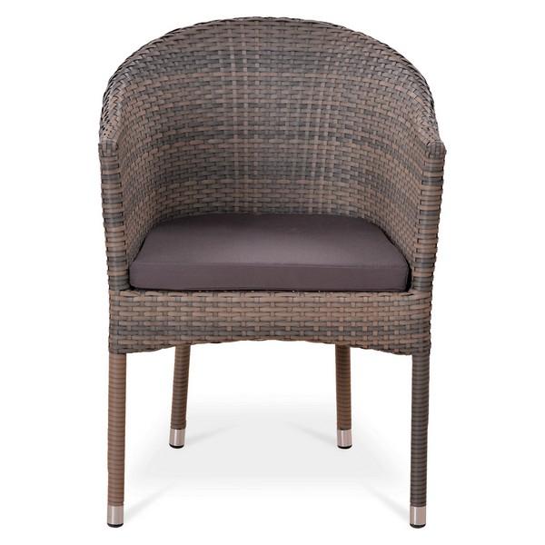 картинка OKODA LBrown Кресло плетеное из ротанга от магазина InYard