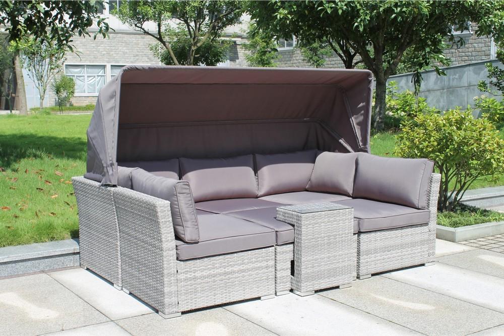 картинка KEL 5 Gray Комплект мебели для отдыха плетеный из ротанга от магазина InYard