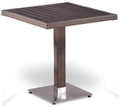 картинка EQOME LBrown Стол обеденный плетеный из ротанга от магазина InYard