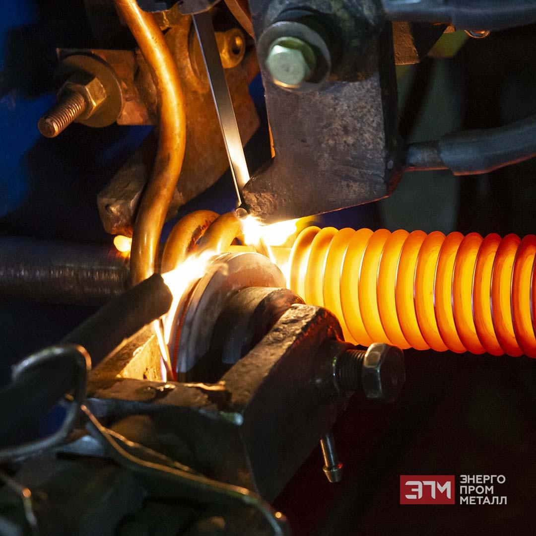 Производство оребренной трубы
