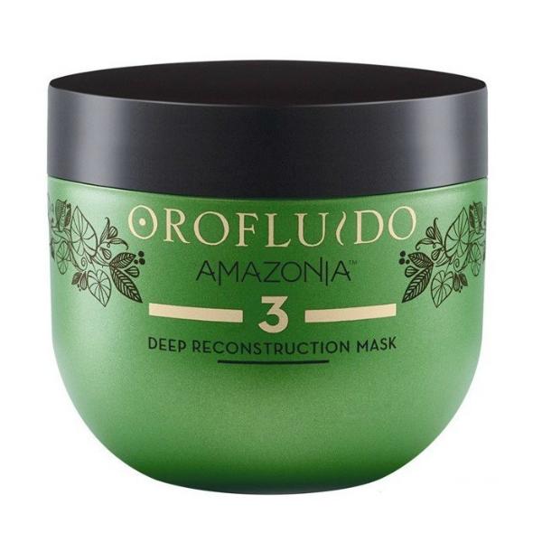 Купить Маска глубокого восстановления Orofluido Amazonia Deep Reconstruction Mask 500 мл (Шаг3) в интернет-магазине профессиональной косметики Klassika.Top
