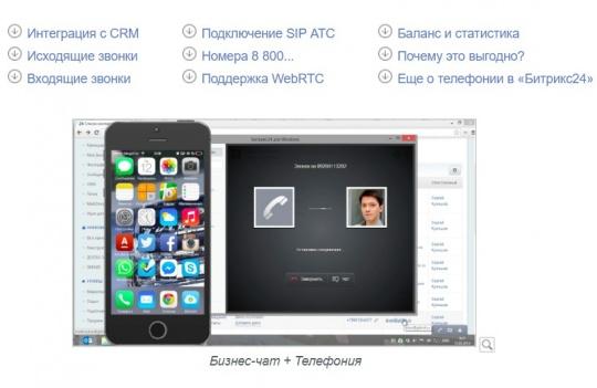 интеграция IP телефонии ЛидерЦРМ