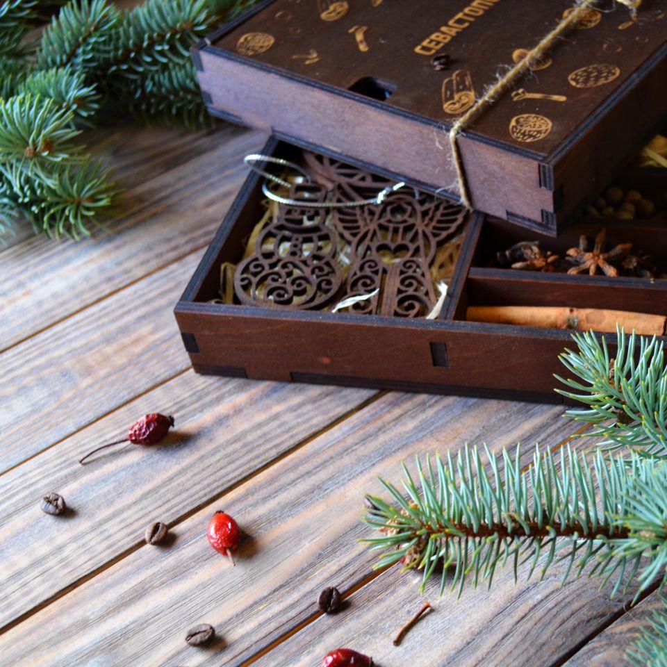 Подарочный набор глинтвейн в коробке
