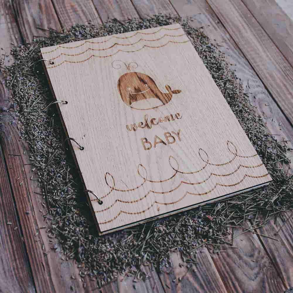 Детский фотоальбом с магнитными листами