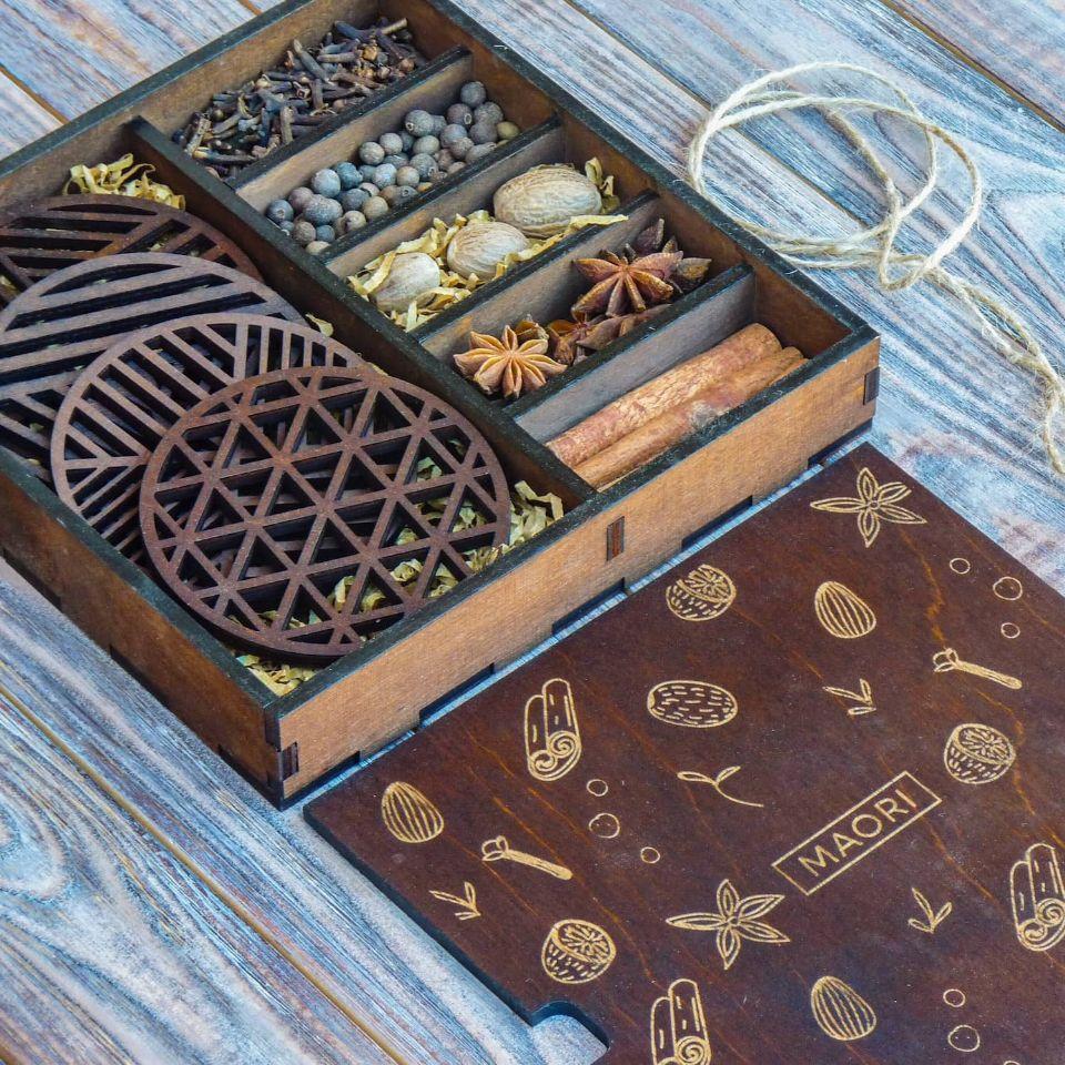 Специи для глинтвейна подарочная коробка