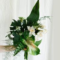 Ботанический букет. Flowerschool.online