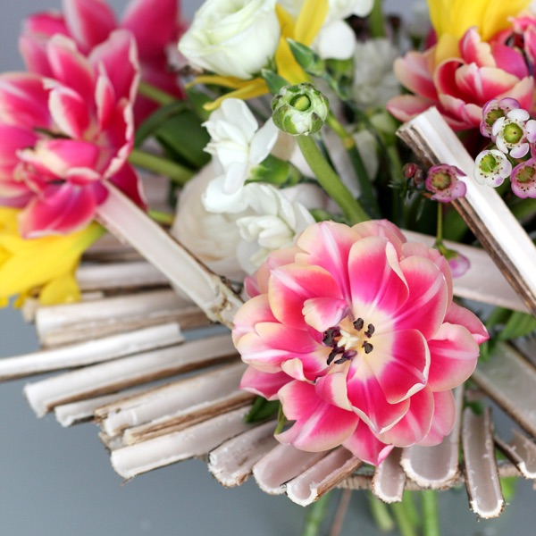 Букет на каркасе из борщевика. Flowerschool.online