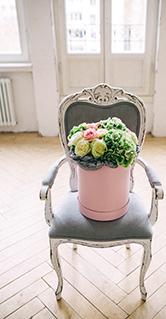Шляпная коробка - курсы флористики онлайн
