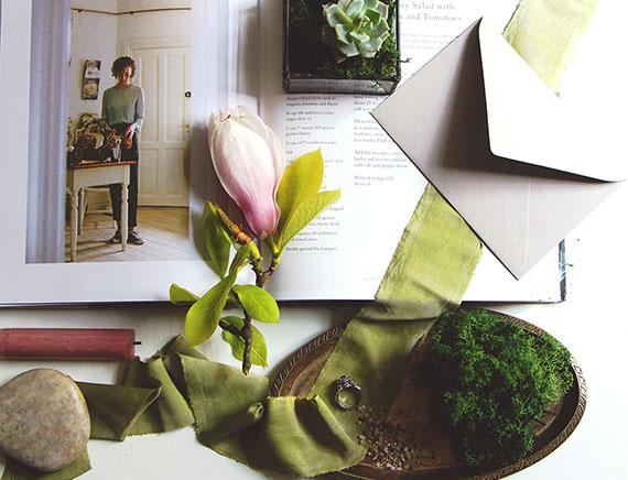 Окрашивание шелковых лент - курсы для флористов