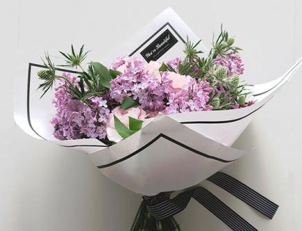 Упаковка букета.NEW Flowerschool.online