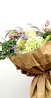 упаковка букета - курсы флористики онлайн