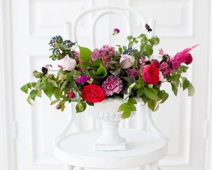 Композиции на разнообразных креплениях Flowerschool.online