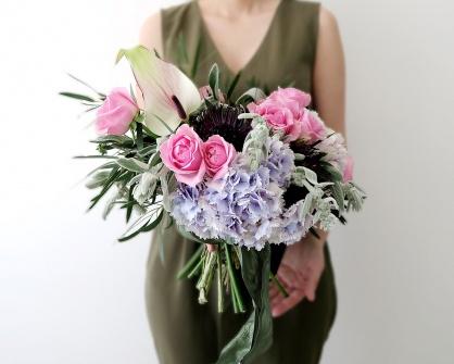 Коммерческая флористика.Букеты Flowerschool.online