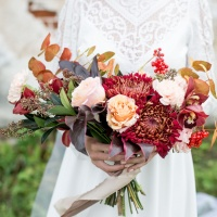 Wedding bouquet. Types, features.