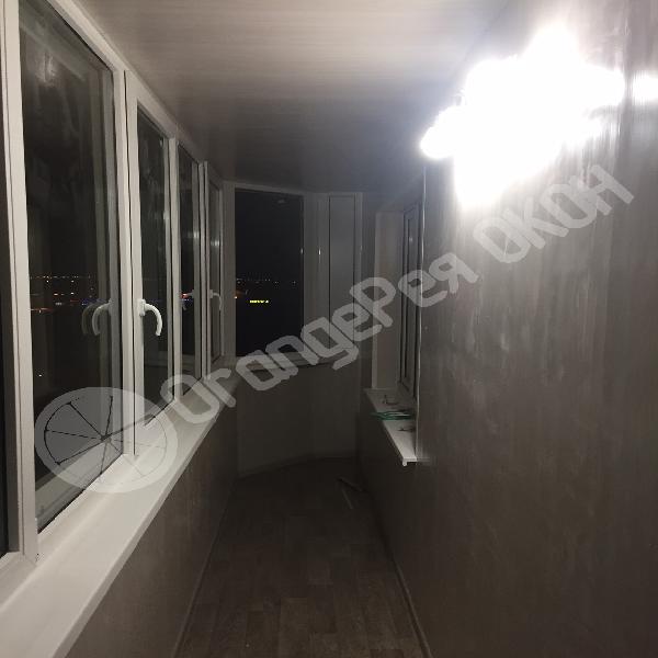 Установка трапециевидного окна в деревянном доме в СНТ Красницы
