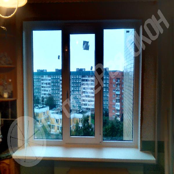Установка окна в кирпичном доме на Витебском проспекте