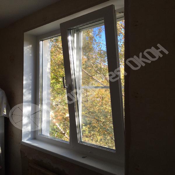 Установка балконной пары в кирпичном доме на Витебском проспекте