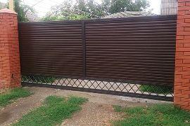 Ворота откатные компания воротные системы фото 5
