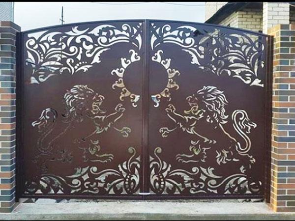 Воротные системы - распашные ворота