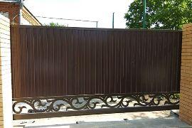 Ворота откатные компания воротные системы фото 1