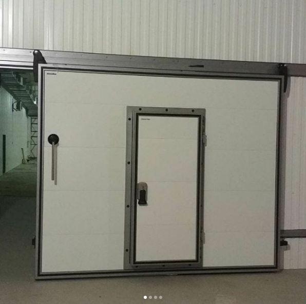Воротные системы - сдвижные холодильные ворота