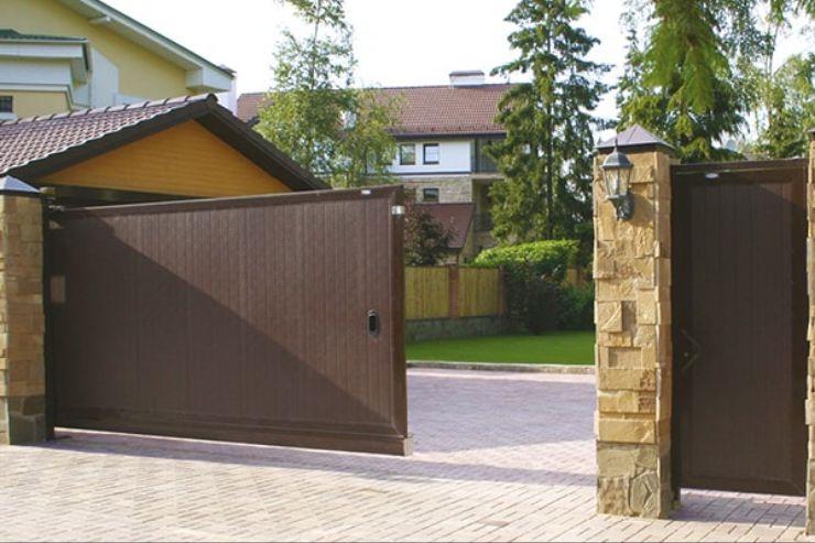 Алюминиевые ворота фирмы DoorHan