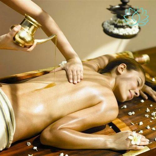 массаж горячим маслом в москве