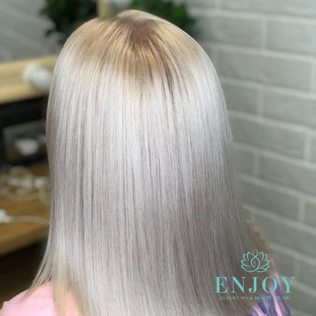 тонирование волос в москве