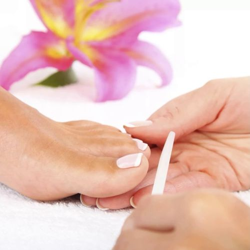 Pedicure hygienic without coating
