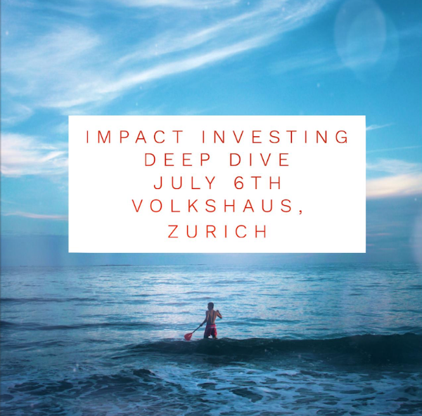 IMPACT INVESTING DEEP DIVE, GETTING INTO ACTION