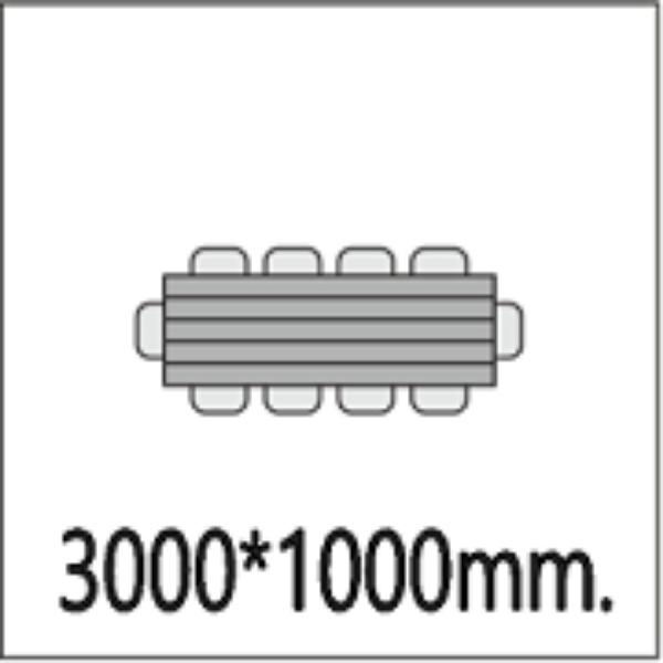 3000*100мм.