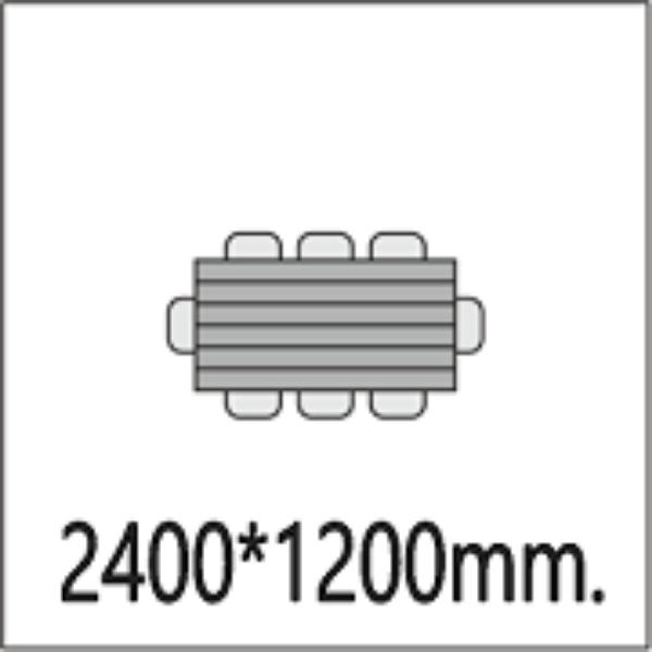 Размер столешницы 2400*1200мм.