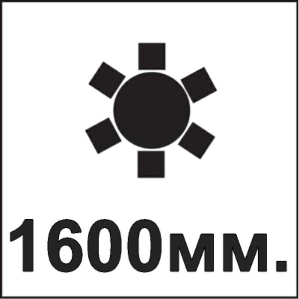 Диаметр столешницы 1600мм.