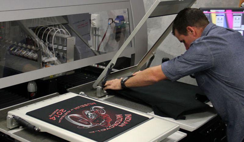 цифровая печать на одежде