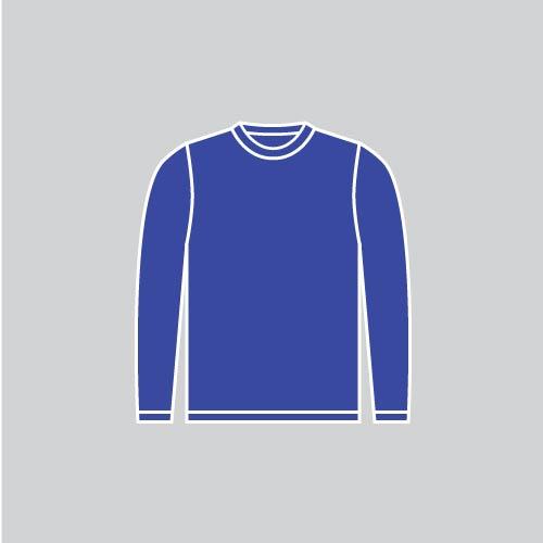 Пошив футболок с длинным рукавом