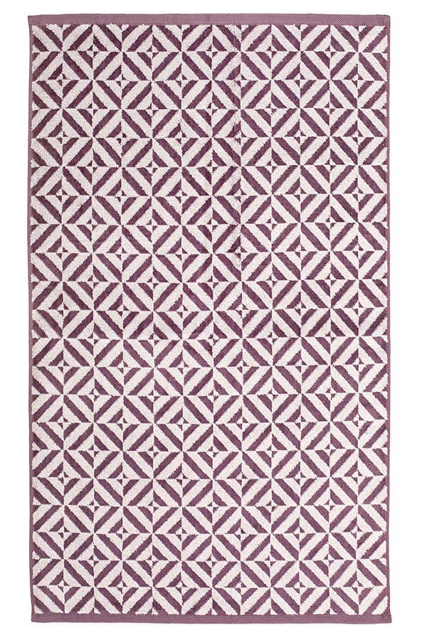 картинка Махровое полотенце 34*76 бордовый от магазина Одежда+