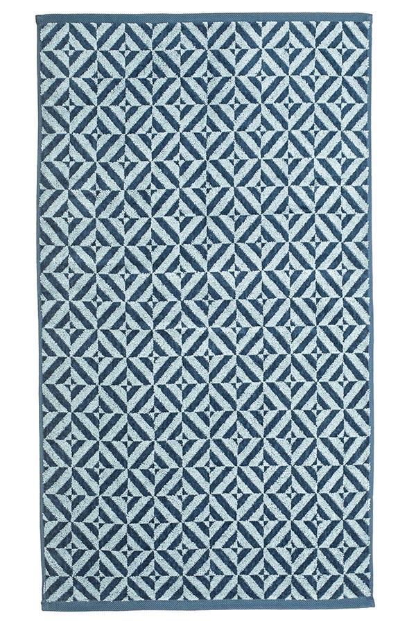 картинка Махровое полотенце 34*76 темно-голубой от магазина Одежда+